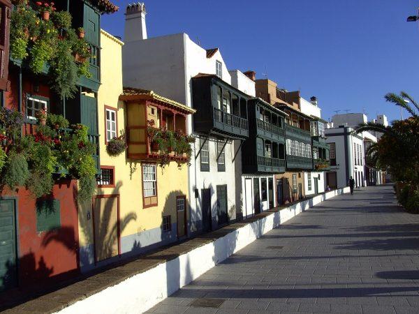 Hübsches Städtchen Santa Cruz auf La Palma