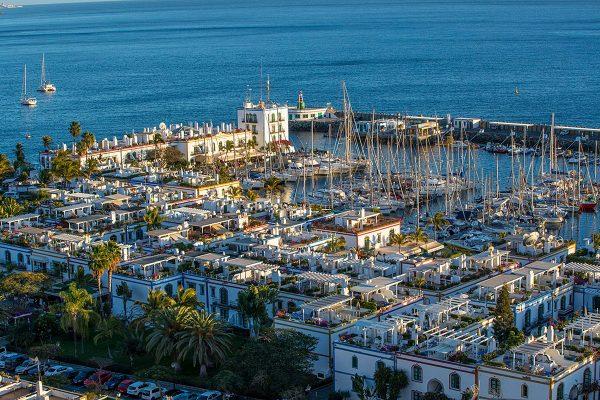 Herrlicher Blick über Puerto de Mogan