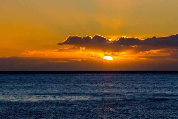 Kanarische Sonne am Abend