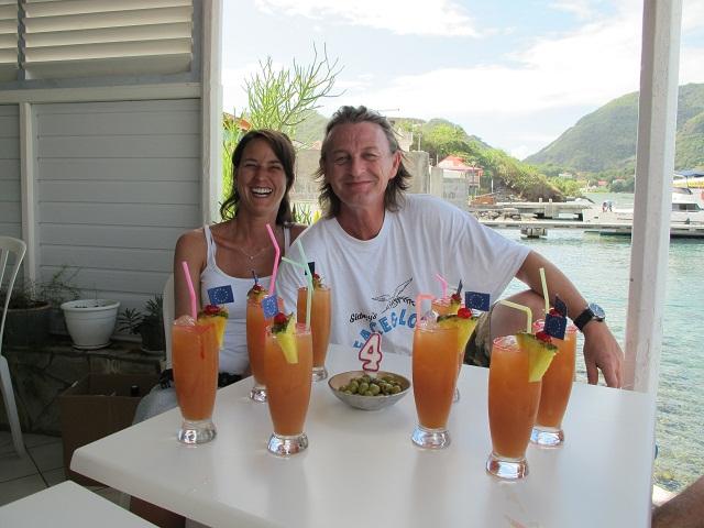 4.Hochzeitstag in der Karibik_mit PlantersPunch
