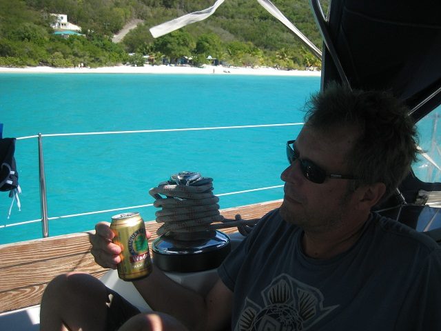 Chillen in der White Bay_British Virgin Islands