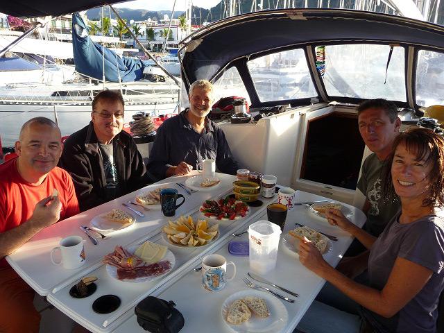 Crew der Atlantiküberquerer noch in Mogan
