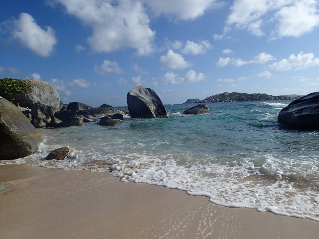 The Bath bei Virgin Gorda - ein Traum