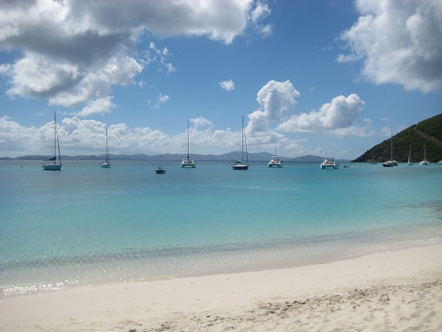 White Bay auf Jost van Dyke_British Virgin Islands
