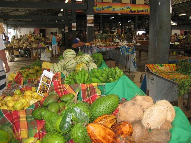 karibischer Markt