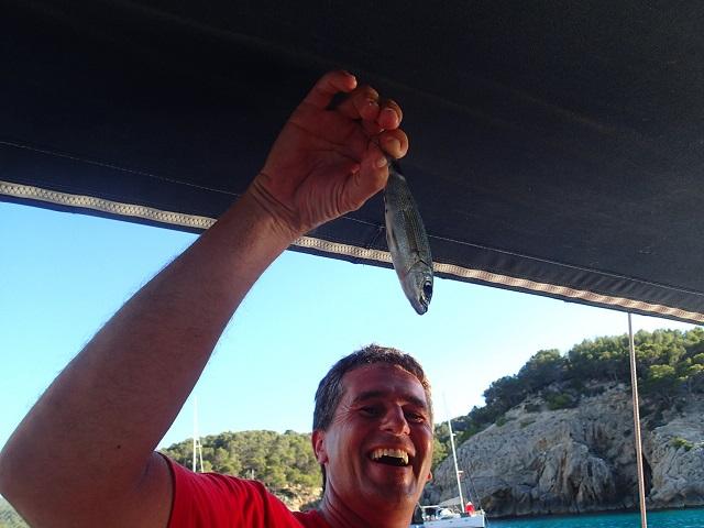 das Anglerglueck im Mittelmeer faellt etwas kleiner aus als im Atlantik