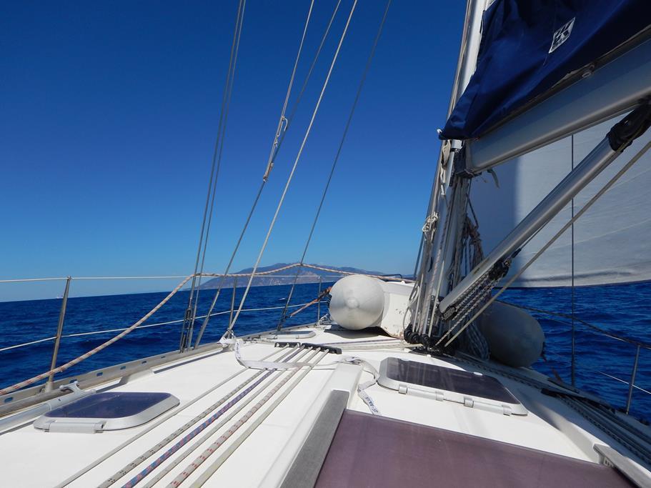 Ansteuerung von Elba bei besten Bedingungen
