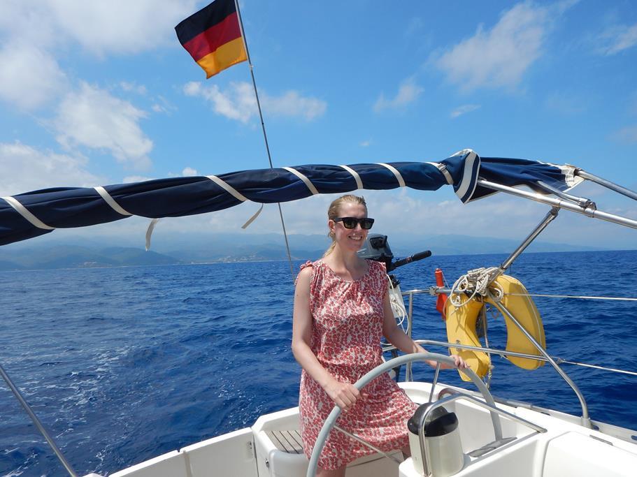 Spass beim Segeln zwischen Korsika und Elba