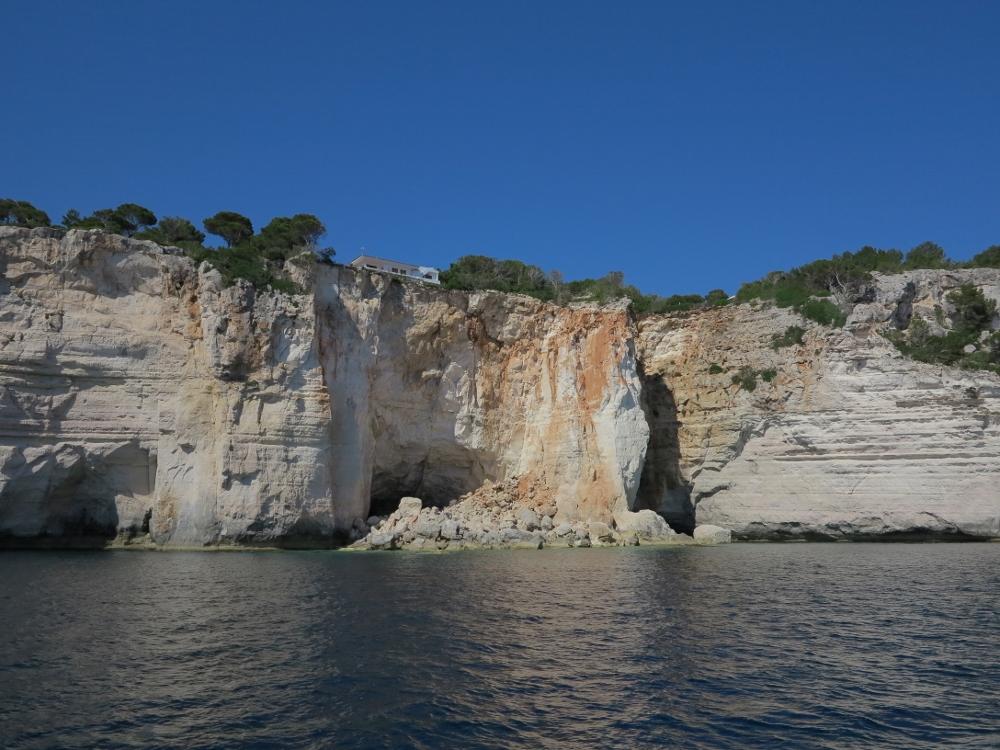 Entlang der tollen Küste von Menorca