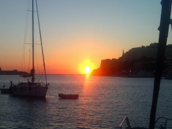 Sonnenaufgang vor Valletta