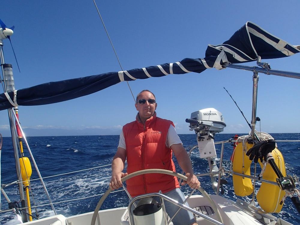 Sunshine Sailing zwischen den Kanarischen Inseln