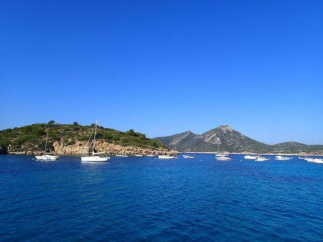 die Bucht von San Telmo