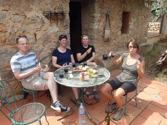 Ausflug zum Olivar von Karins Bruder auf Mallorca