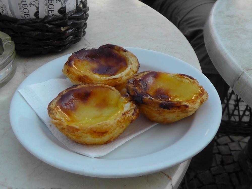 """Eine leckere """"Schweinerei"""" – ein portugiesisches Muss: Pastel de Nata"""