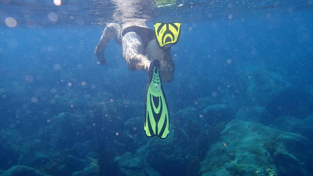 Schnorchelspaß in den Tobago Cays