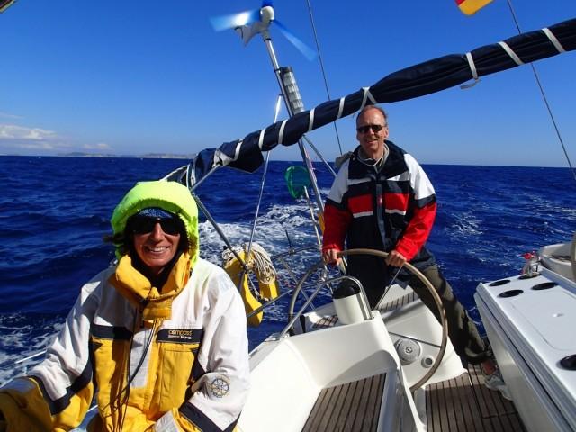 Tolles Segeln vor Mallorca