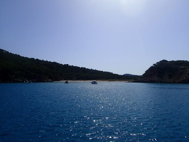eine von unzähligen tollen Ankerbuchten bei Menorca