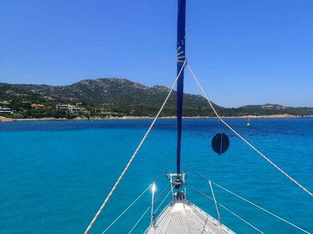 Tolle Ankerbucht bei Sardinien