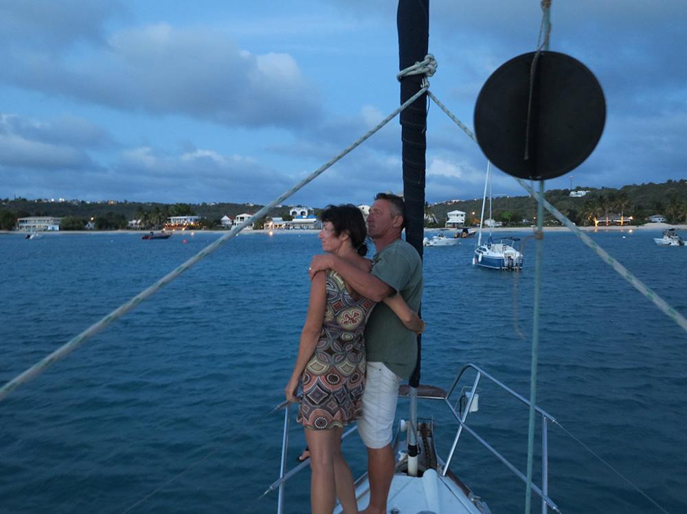 Abschied – ein letztes Mal Ankern in unserer geliebten Roadbay in Anguilla