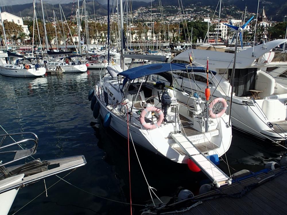 Die InsPIRATion im Hafen von Funchal