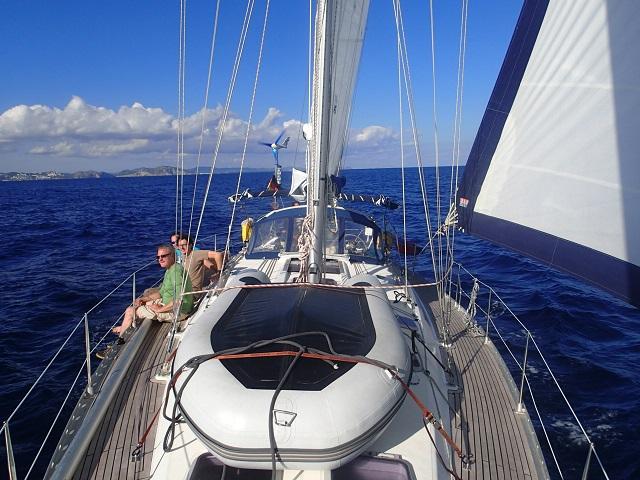 Segeln bei Ibiza