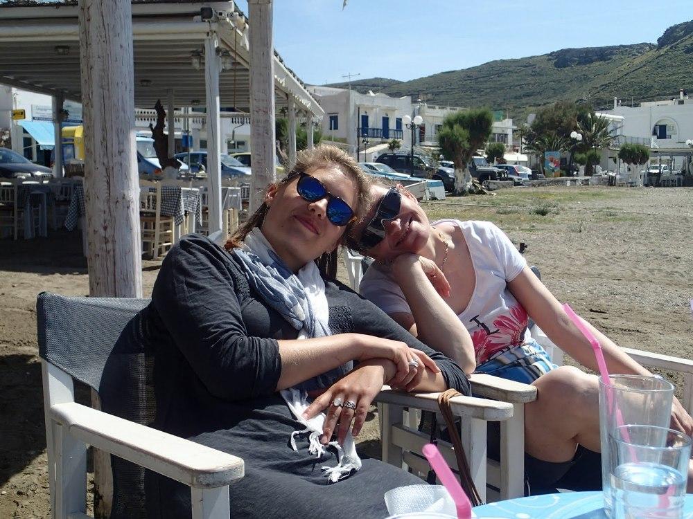 Relaxen im Strandcafe