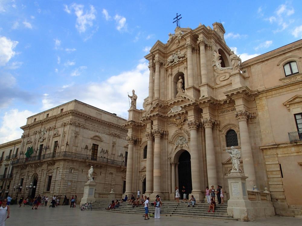 Herrliche Altstadt von Syrakus