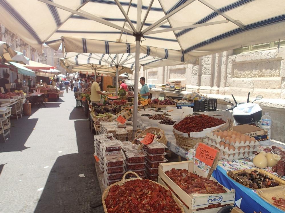 Toller mediterraner Markt