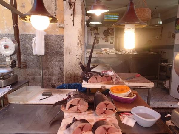 Schwertfisch auf Sizilien, eine Spezialität