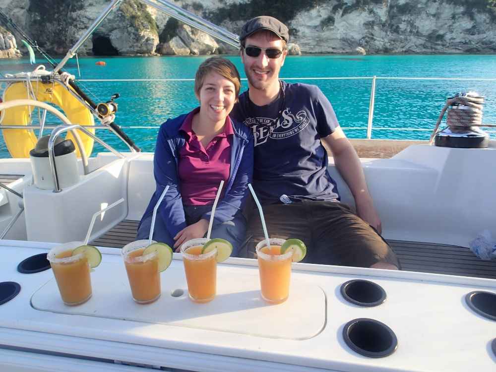 Cocktails in Antipaxos