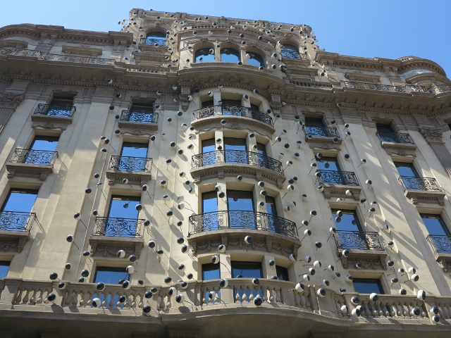 Tolle Architektur in Barcelona
