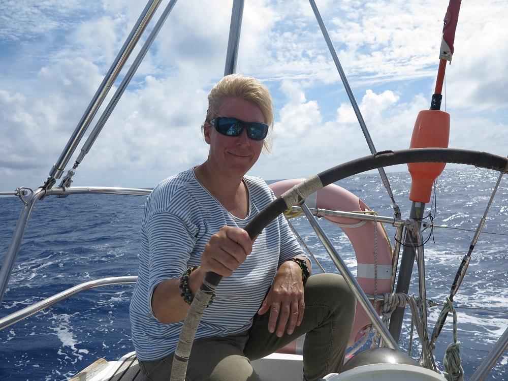 Unsere liebe Freundin Anke hat mit uns schon die Überquerung in die Karibik 2012 gemacht