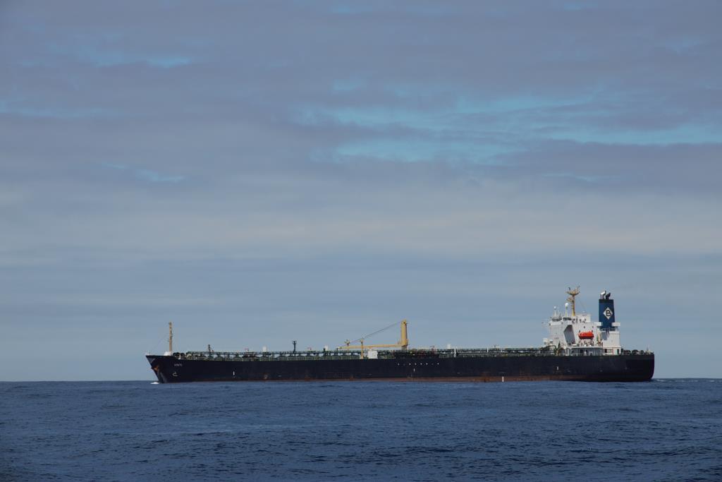 Wir nähern uns dem Festland, langsam nehmen die Schiffsbewegungen wieder zu