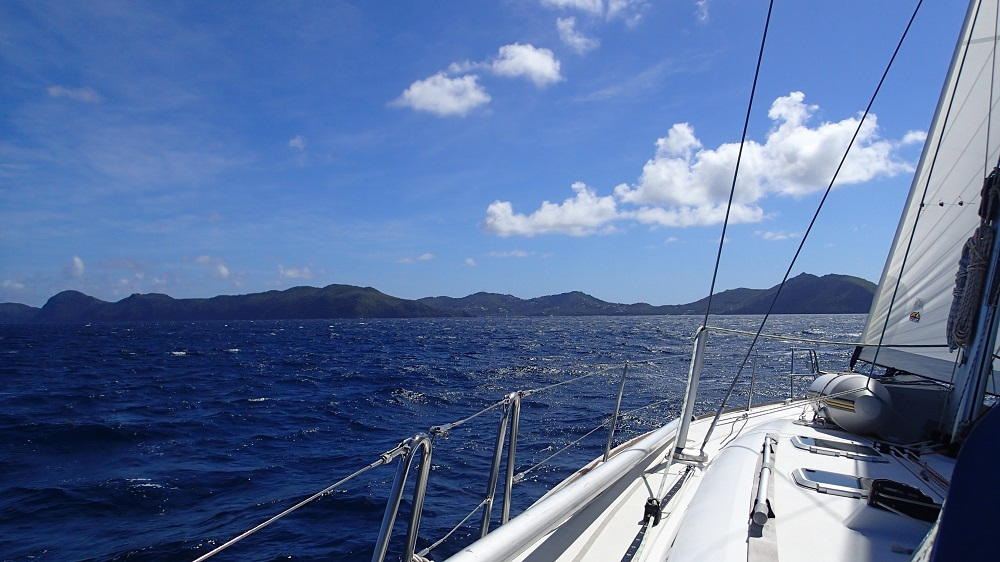 Segeln in den Grenadines