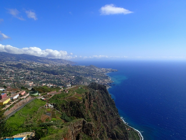 Grüne Insel - Blauer Ozean