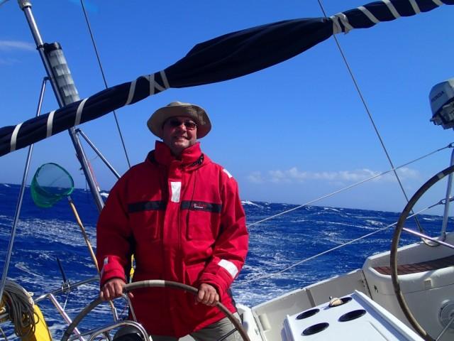 Schräg segeln…