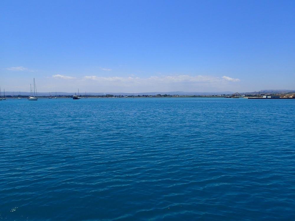 Die große Bucht vor Syrakus