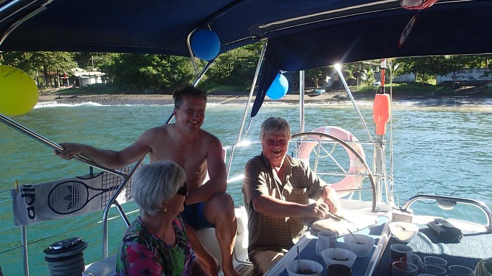Ihr Mann feiert seinen 80sten Geburtstag mit uns auf St. Vincent