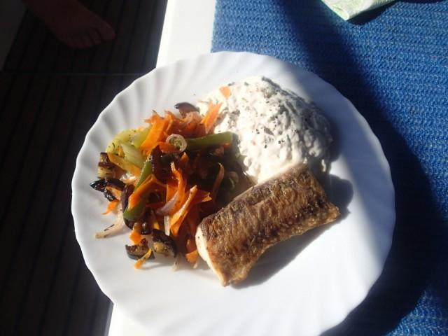 Fisch auf Teller