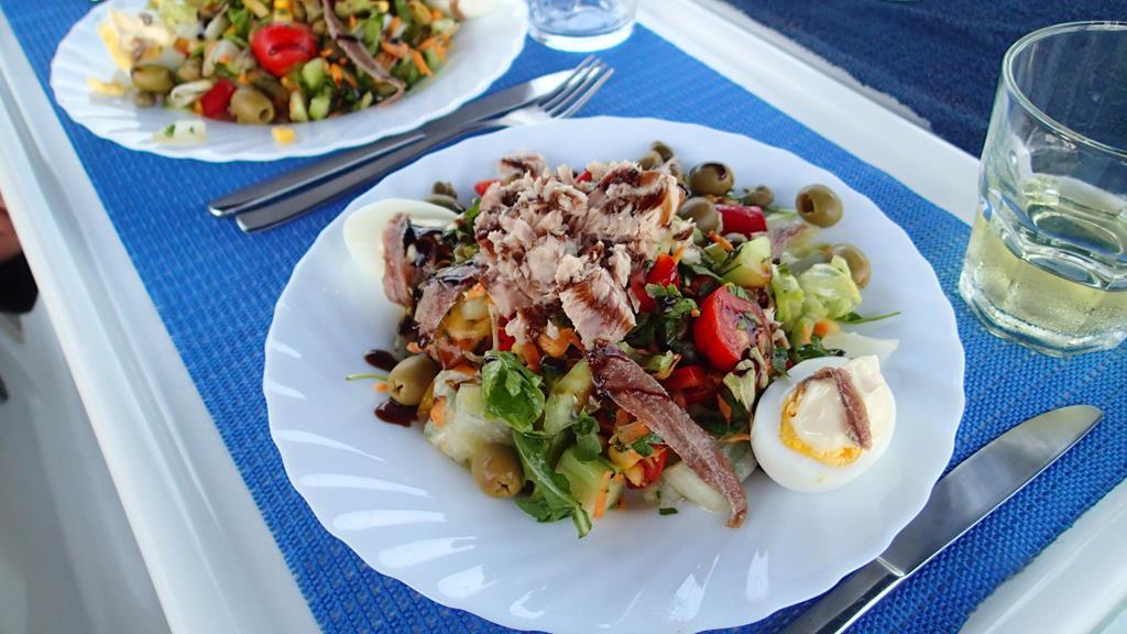 Lecker - Salat Nicoise – schmeckt auch in Italien