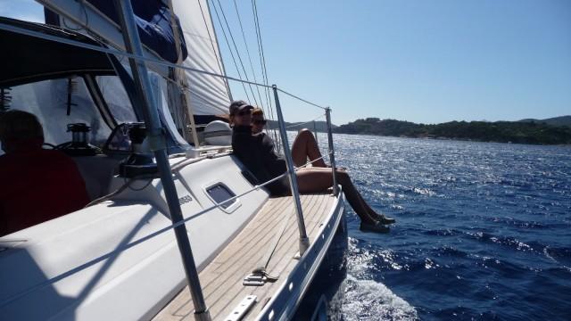 Wundervolles Segeln vor Elba