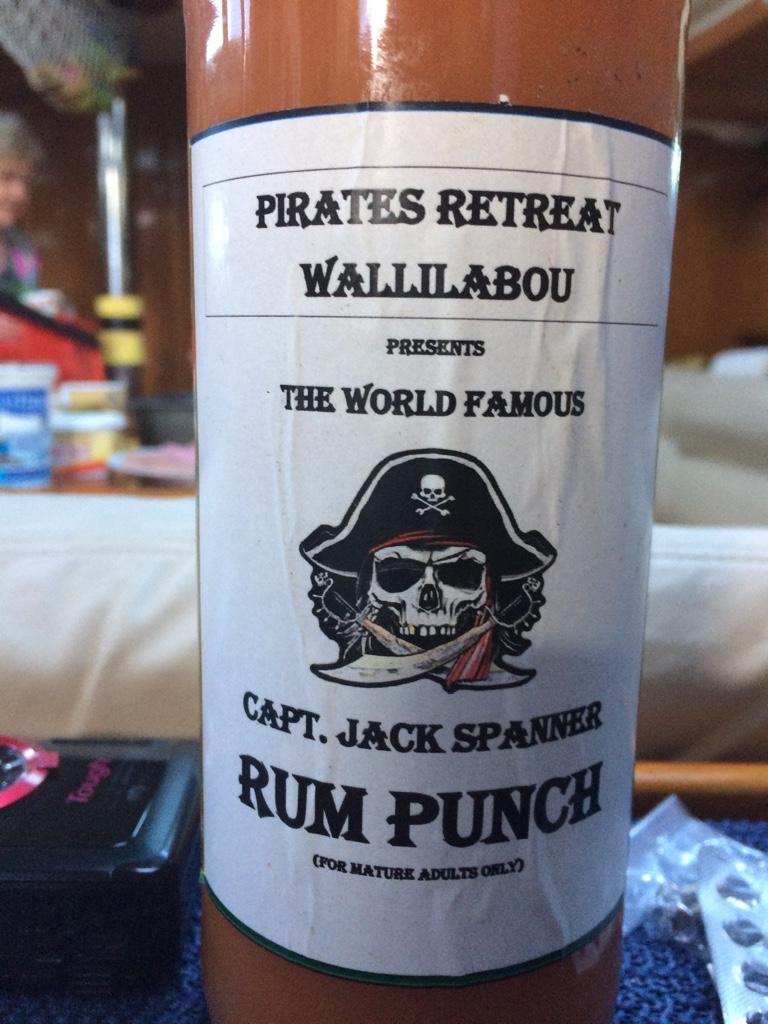 der Rum ist hausgemacht