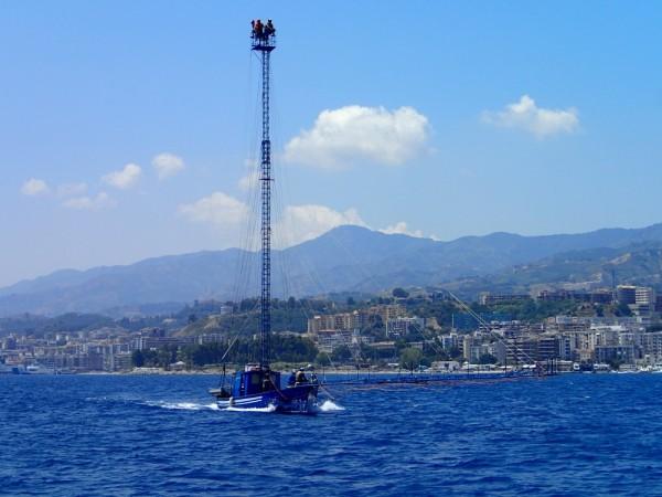 Heiße Bootskonstruktion-die Schwertfischjäger von Messina