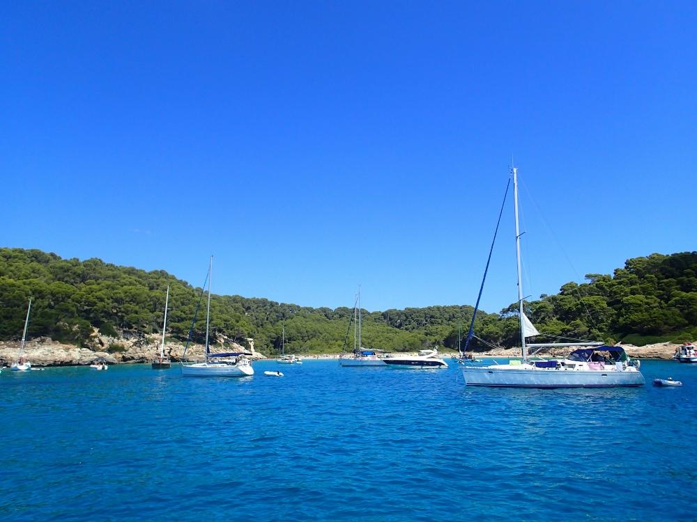 Herrliche Buchten bei Menorca