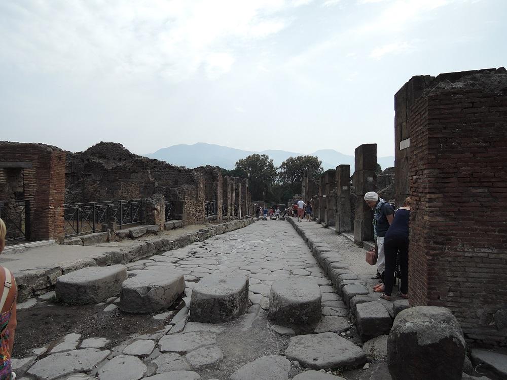 Ausflug nach Pompeij
