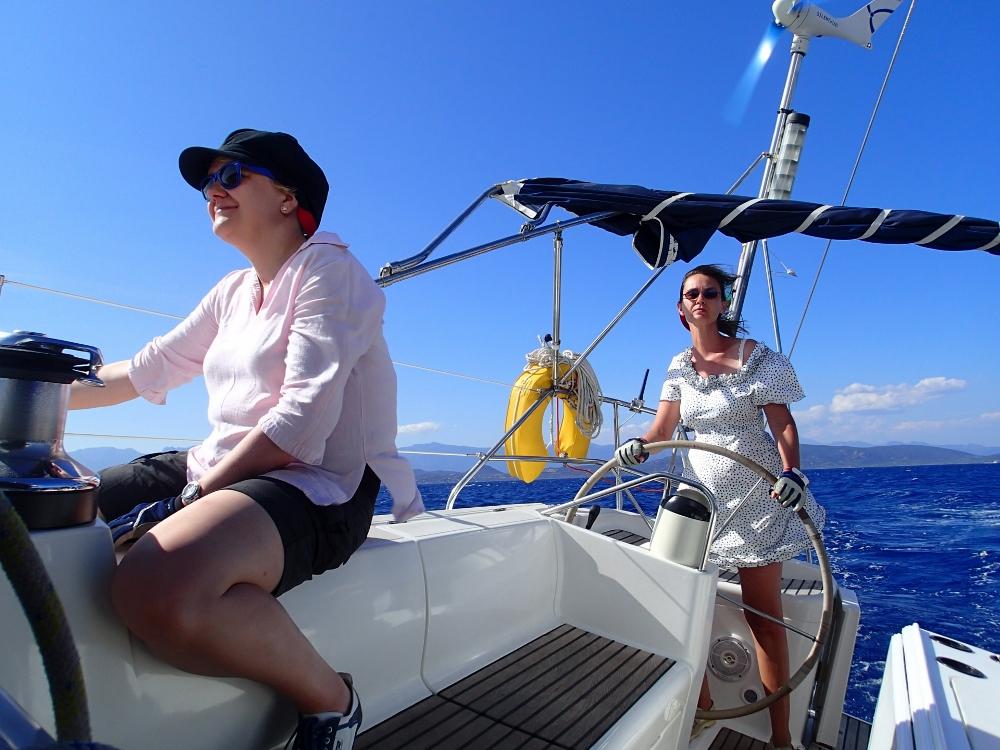 Segelspaß bei Korsika