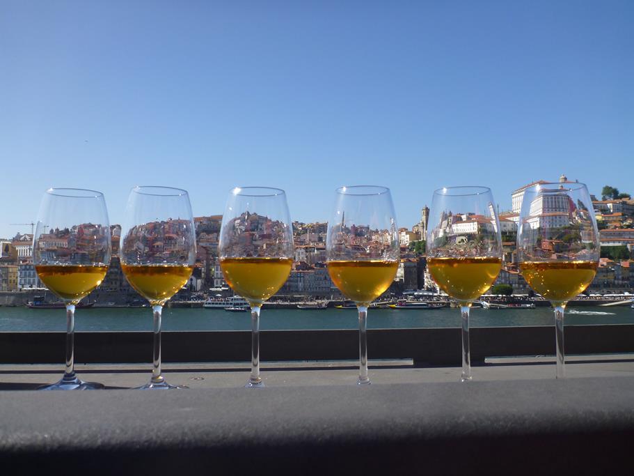 und den süffigen Portwein