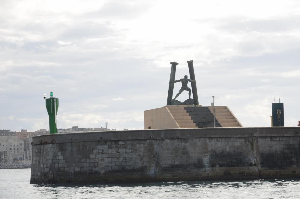 Wir wechseln den Kontinent – Ansteuerung der Hercules Marina in Ceuta, der spanischen Enklave in Afrika