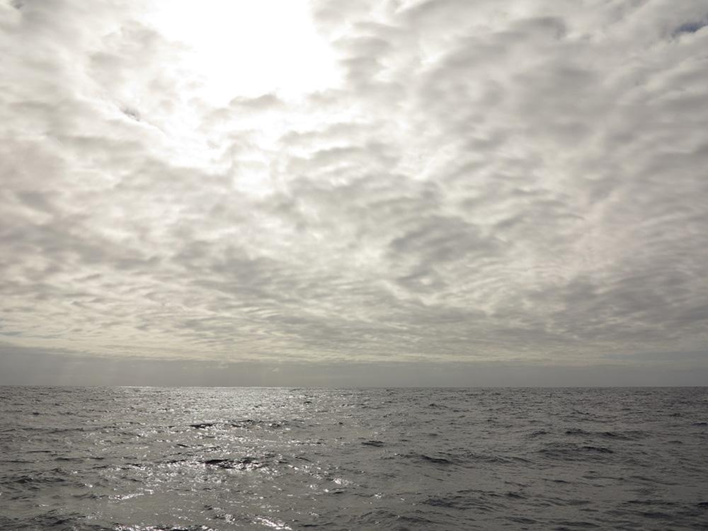"""Der Himmel zieht zu - Beginn unserer """"Tunnelfahrt"""""""