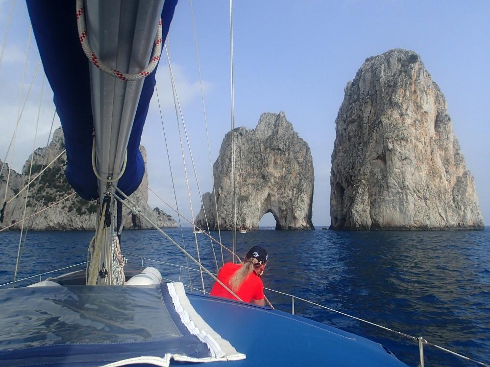 Felslandschaft kurz vor Capri